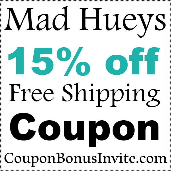 The Mad Hueys Coupon Code 2021, The Mad Hueys Discount Code January, February, March, April