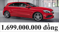 Giá xe Mercedes A250 2018