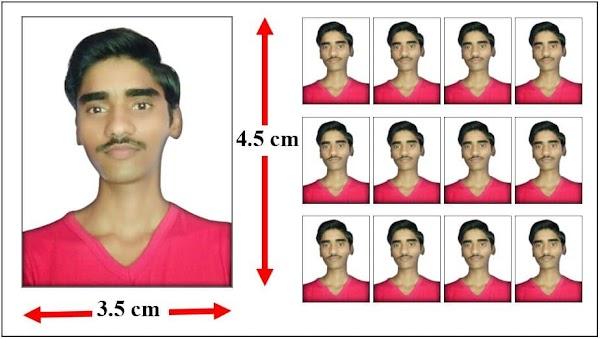 passport size photo size in cm   passport photo size india