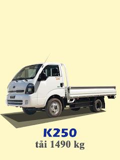 xe tải kia thaco frontier k250 tải trọng 1,4 tấn