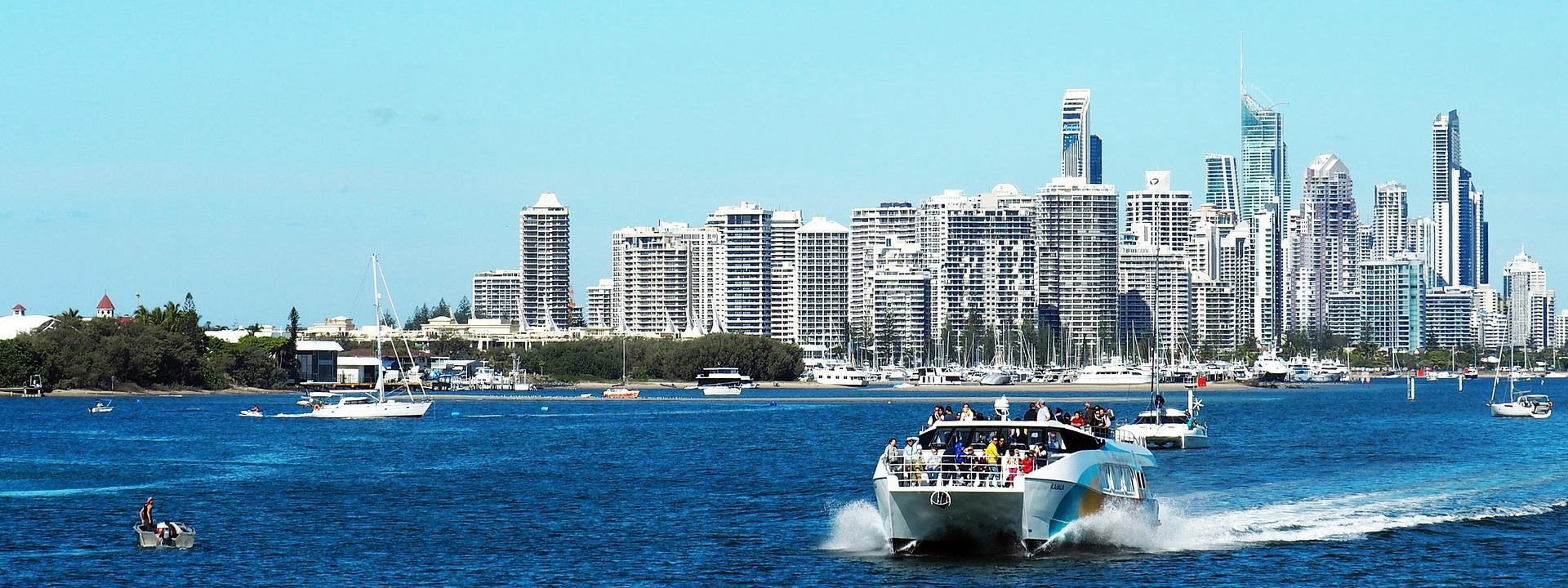 Panoramic View of Gold Coast Australia
