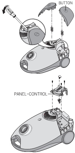 How To Disassemble Samsung Vc 6025 Vacuum Cleaner