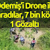 Ödemiş'i DRONE ileTARADILAR