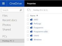 Scaricare tutti i file del PC via internet (con Onedrive)