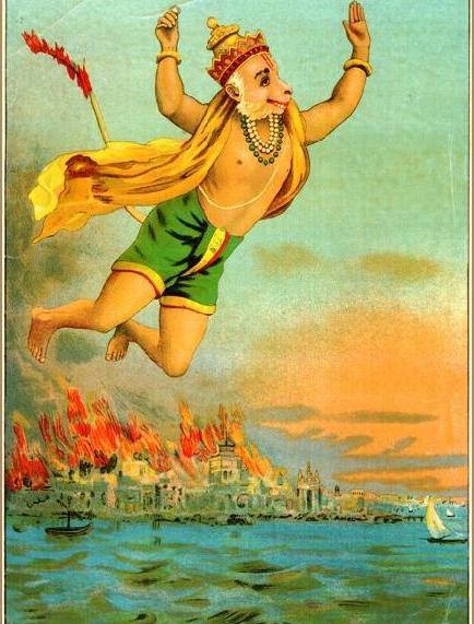 hanuman-burns-lanka-with-tail