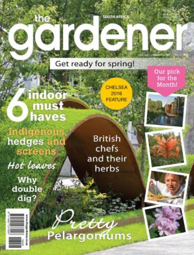 Download The Gardener South Africa Magazine August 2016 PDF