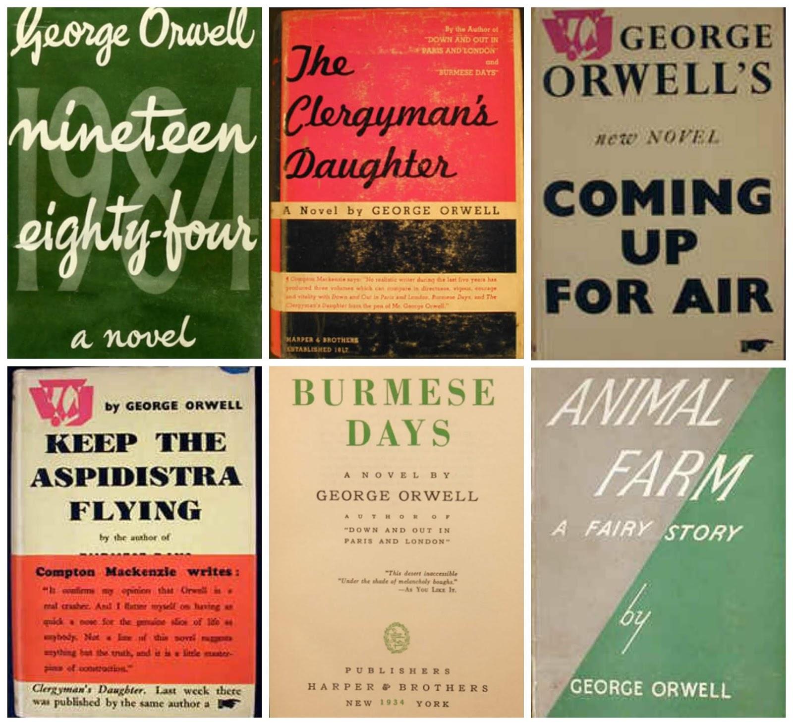 Bookyards: Ebooks by George Orwell