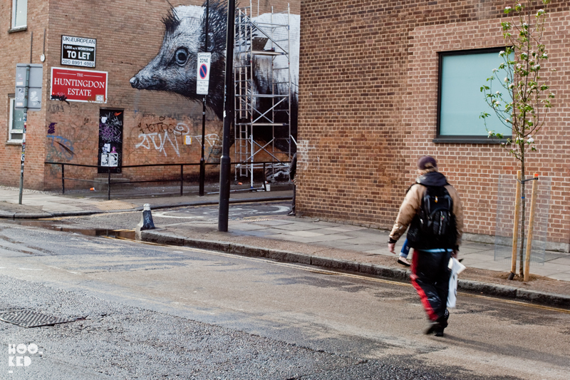 Shoreditch Street Art ROA