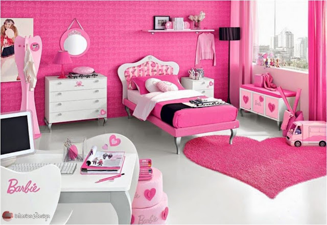 pink bedrooms for teen girls 14