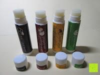 Erfahrungsbericht: LIPPENPFLEGESTIFT Einzigartig erfrischende Düfte (4-er Packung) - Lippenpflege die trockene Lippen repariert und Feuchtigkeit verleiht. 100% aus natürlichem Bienenwachs Lippenbalsam. Hergestellt in USA von Beauty by Earth