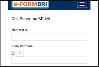 cek daftar nama penerima bantuan bpum umkm online
