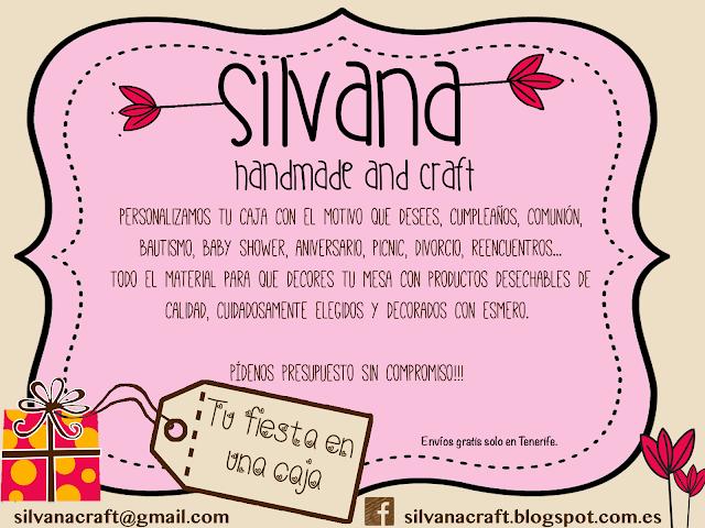 http://silvanacraft.blogspot.com.es tu fiesta en una caja