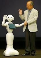 Soft Bank's Pepper Robot Assistant.