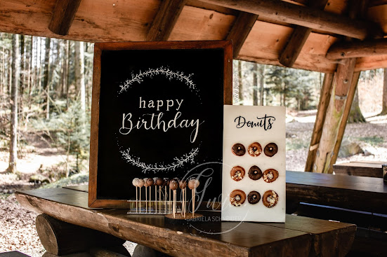 waldgeburtstag, donuts, cake pops, happy birthday, gwiegabriela, gwie, geburtstag glenn