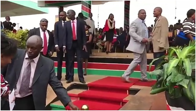 PHOTOs! Githeri man steals the show at SONKO's inauguration, he was at the VIP dais.