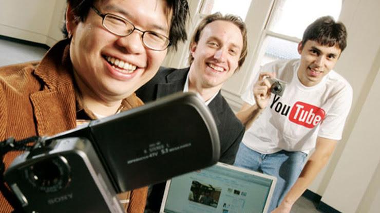 Fundadores de YouTube