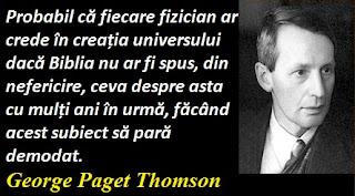 Citatul zilei: 3 mai - George Paget Thomson
