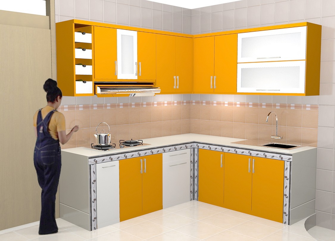 Produksi kitchen set interior dapur di semarang