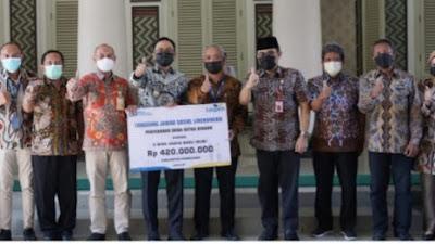 PT Taspen Bantu WUB, Bupati Baddrut Tamam Ajak Susun Kemitraan Strategis