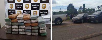 Filho de deputado do Pará é preso no Maranhão com 40 quilos de maconha