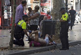 ΚΟΣΜΟΣ: ΣΟΚ στην Βαρκελώνη- Τρομοκρατική επίθεση με δεκάδες νεκρούς και τραυματίες