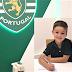 COLÉGIO ATLÂNTICO»»Jovem de sete anos assina pelo Sporting