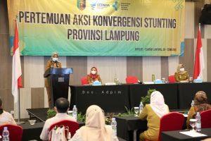 Pemprov Lampung Targetkan Angka Stunting Turun Hingga 14% di Tahun 2024