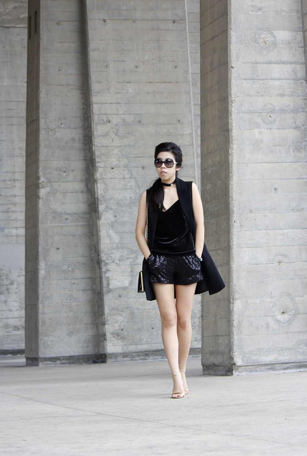How to wear a velvet Top_Adrienne Nguyen