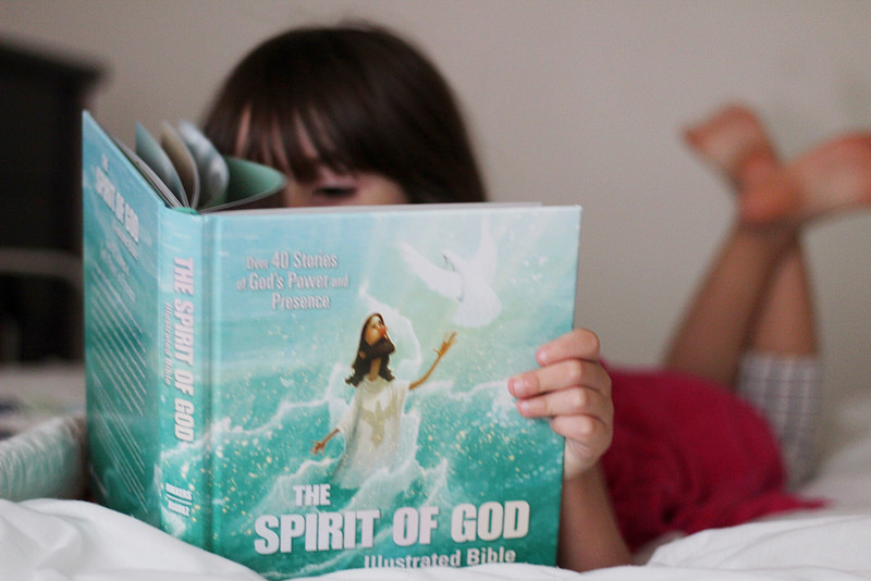 The Spirit of God Illustrated Bible {a review}
