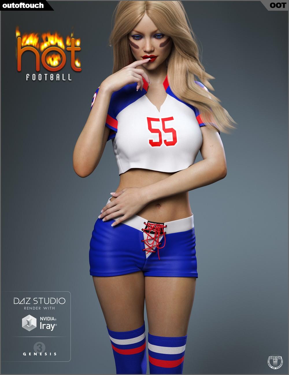 Download Daz Studio 3 For Free Daz 3D - Hot Football -1047