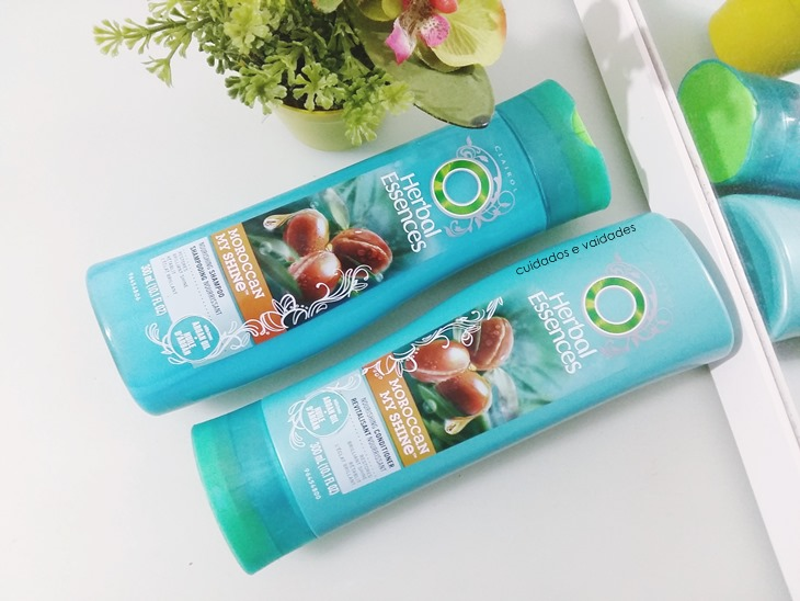 Shampoo e Condicionador Herbal Essences Maroccan da Clairol