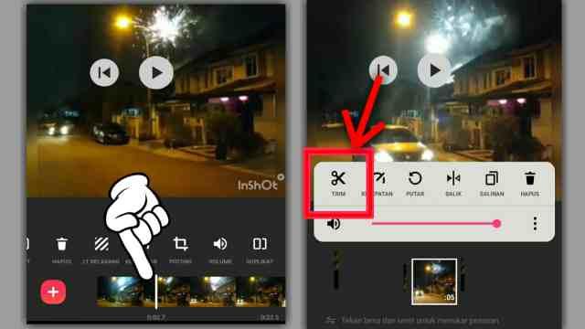 cara membuat video slowmotion di inshot