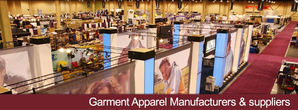 Garment Manufacturers, Garments Exporters Listings, Apparel Wholesale Suppliers Company Directory