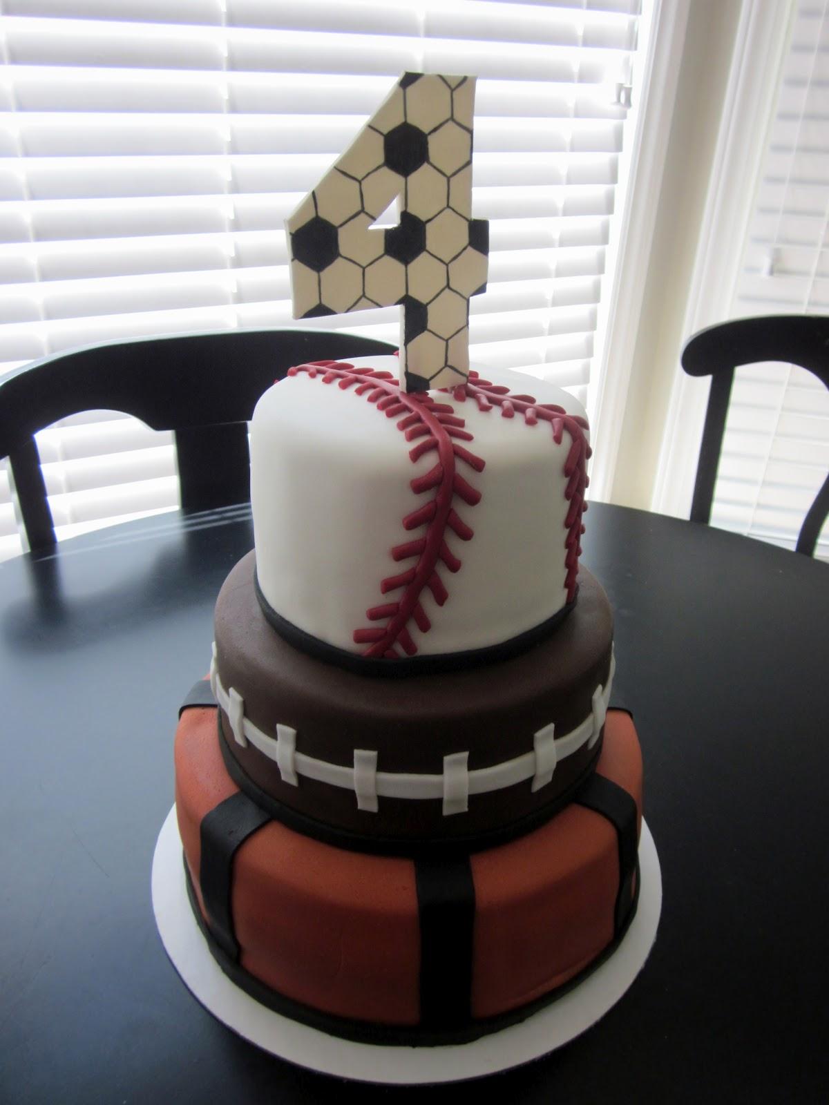 Darlin Designs Happy Birthday Sport S Cake