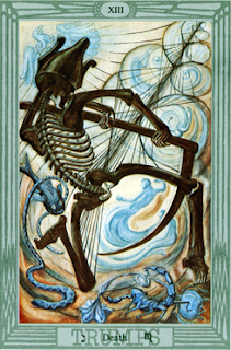 Scorpio and the Tarot of Thoth: Death XIII