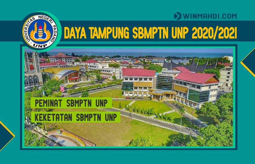 DAYA TAMPUNG SBMPTN UNP 2020