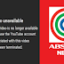 Youtube Channel ng ABS-CBN News, Sinuspinde