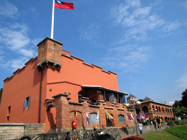 red fort tamsui taiwan