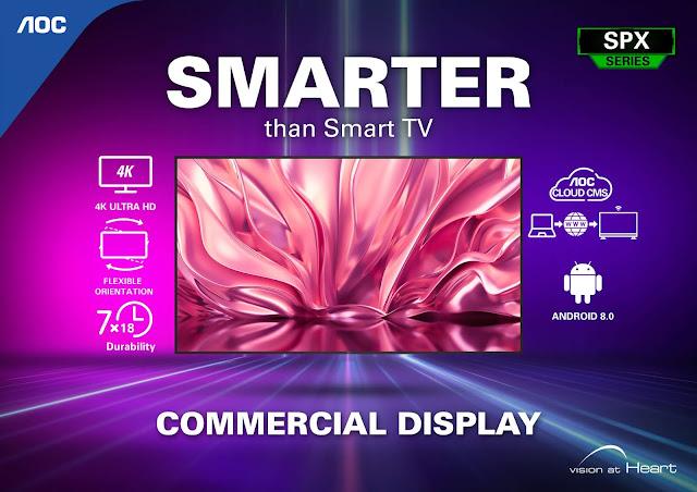 AOC Business Smart TV Gizmo Manila