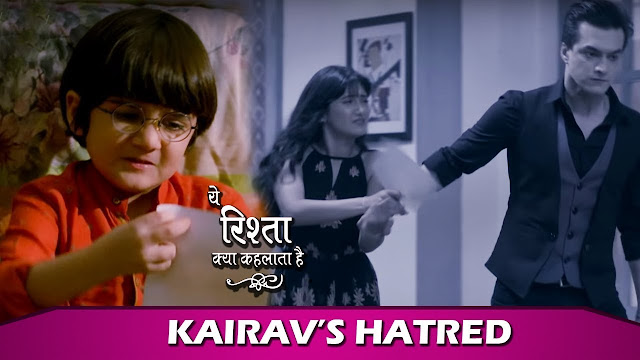 Kairav's hatred refuses to celebrate birthday with Kartik in Yeh Rishta Kya Kehlata Hai
