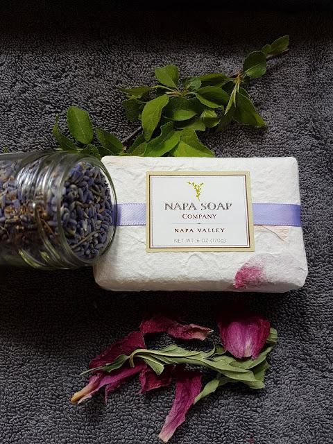 napa soap company at the Camellia