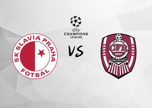 Slavia Praha vs Cluj  Resumen