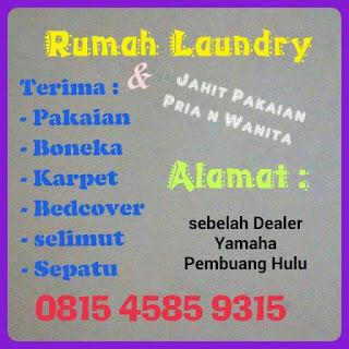Pembuang Hulu Laundry ( Bisnis Lokal )