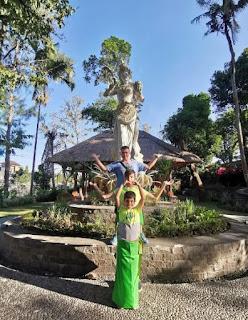 Templo Taman Ayun, Isla de Bali, Indonesia.