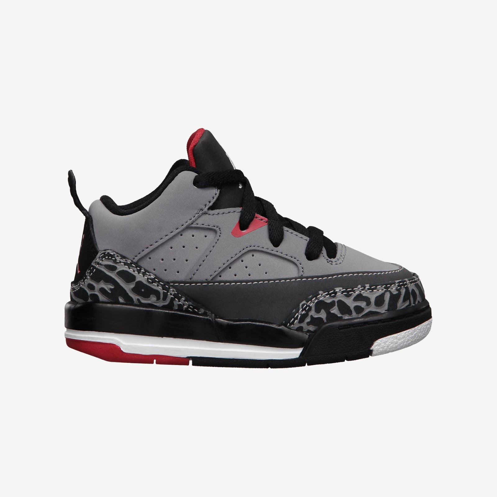 official photos 95929 0ec30 Jordan Son Of Mars Low Toddler Boys  Shoe. Cement Grey White-Black-Fire Red  ...