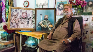 Pervez Shah at his office in Lahore.  Credit:  Annabel Symington