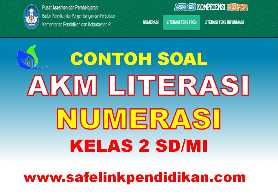 Soal AKM Level 1 Literasi Dan Numerasi