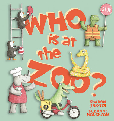 WHO IS AT THE ZOO COVER small