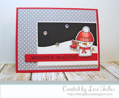 Season's Greetings card-designed by Lori Tecler/Inking Aloud-stamps and dies from Paper Smooches