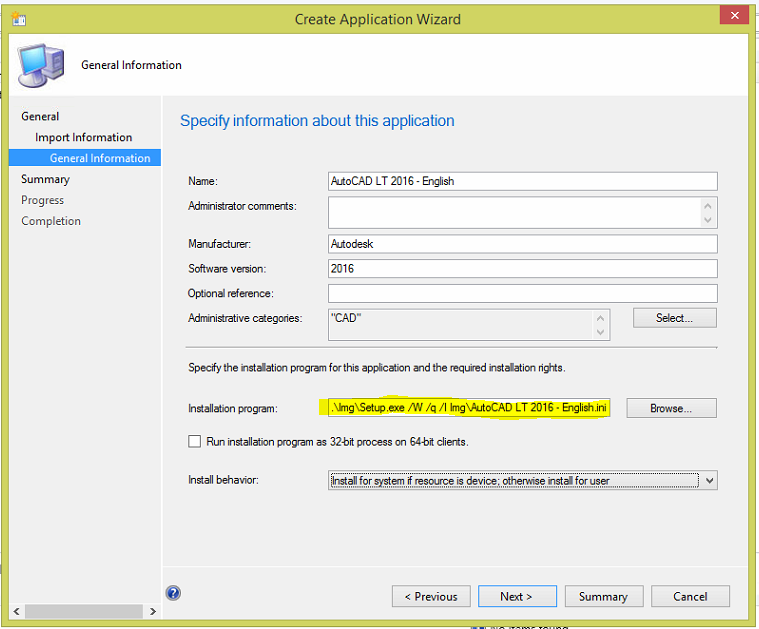 How to deploy AutoCAD using SCCM - TechyGeeksHome